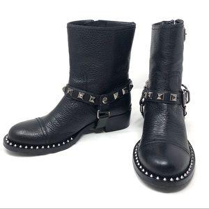 Like 🆕 MIU MIU studded biker boots, size 38.5